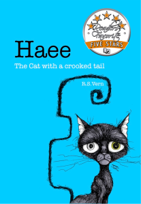 "A 5 star book review for ""Haee The cat with a crooked tail"" by R.S. Vern"
