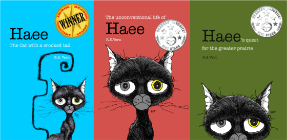 """Haee and the other middlings"" book trilogy series by R.S. Vern"