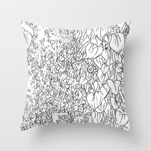 great-prairie-with-sunflowers-in-black-and-white-pillows